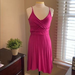 Cute Pink Jersey Dress